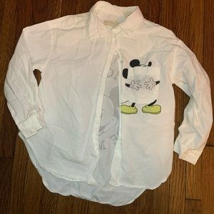 (SOLD) Mickey made me do it top